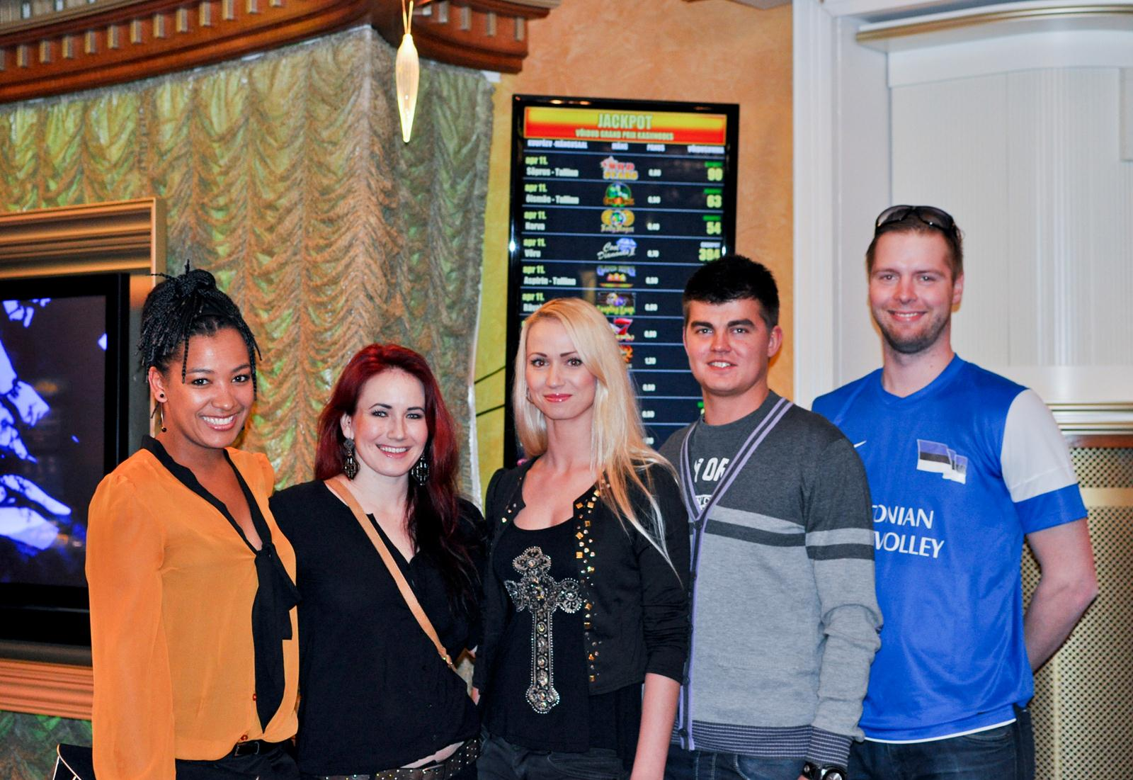 Tantsutähed PokerNews Live turniiril